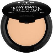 NYX PROFESSIONAL MAKEUP Stay Matte Not Flat Powder Foundation Warm Bei