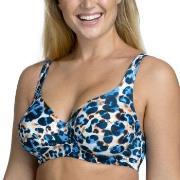 Miss Mary Jungle Summers Underwire Bikini Bra Blå Mønster B 80 Dame