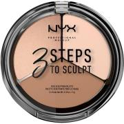 NYX PROFESSIONAL Makeup 3 Steps To Sculpt Fair