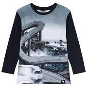 Molo Ravenal T-Shirt Ocean Road 98 cm (2-3 år)