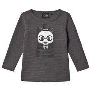 Petit by Sofie Schnoor Grey Panda Tee 74 cm