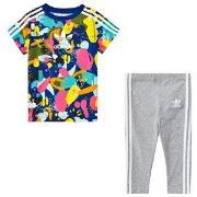 adidas Originals Multicolor Superstar T-Shirt and Bottom Infants Set 9...