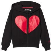 The BRAND Heart Hettegenser Svart 92/98 cm