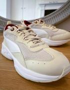 Puma Cilia chunky trainers in beige-Neutral